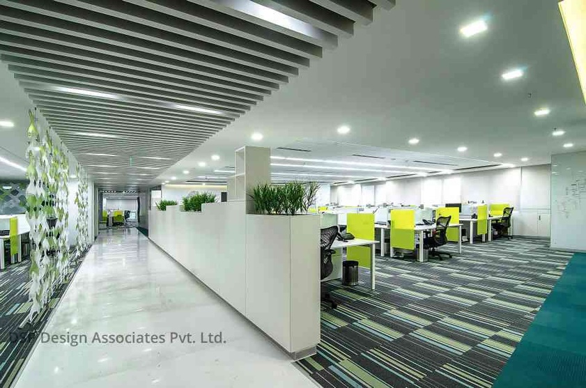 Microsoft bangalore by dsp design associates pvt ltd for Design4 architects bangalore