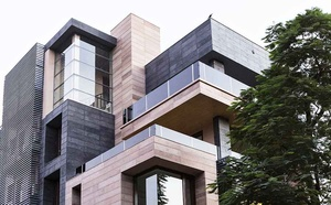 Cuboid House - the exteriors