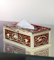 Tissue Box Red Colour