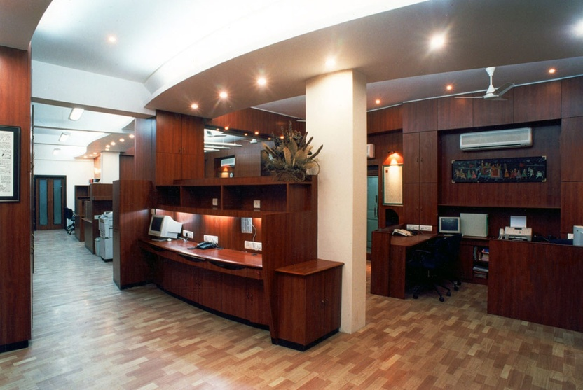 Law firm office i by bindu narayan architect in bangalore for Top office interior design firms