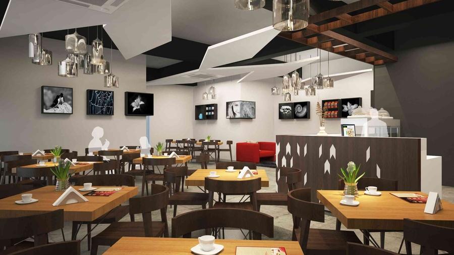 Cafe Interior, Designs