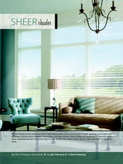 Sheer Roller Shades for Windows