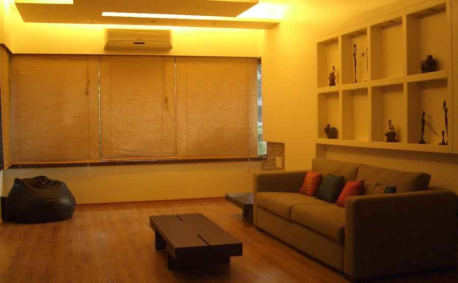 2 bhk apt at bandra by shahen mistry interior designer in for 1 bhk living room interior