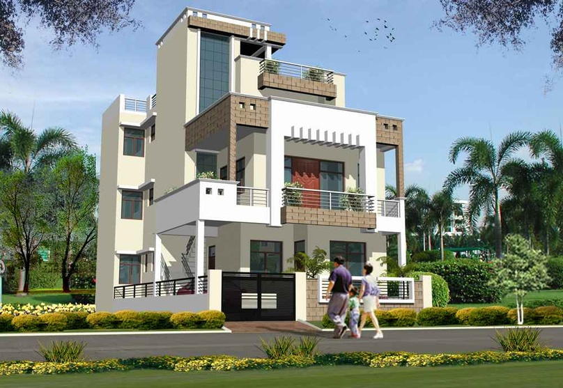 Residences by sanchita seth architect in lucknow uttar for Architecture design for home in lucknow