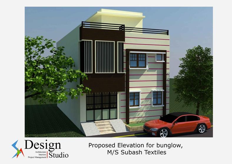 Residence for mr balaji by shailendra nangalia architect for Architecture design for home in odisha