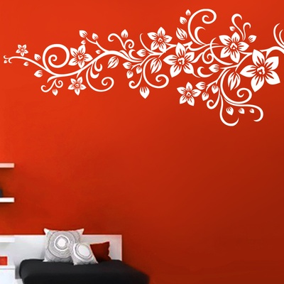 Flora Vine Wall Decal ( KC072 )