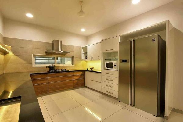Kitchen Floor Tiles Idea By Interior Designer Archis Patel Tanvi Rajpurohit