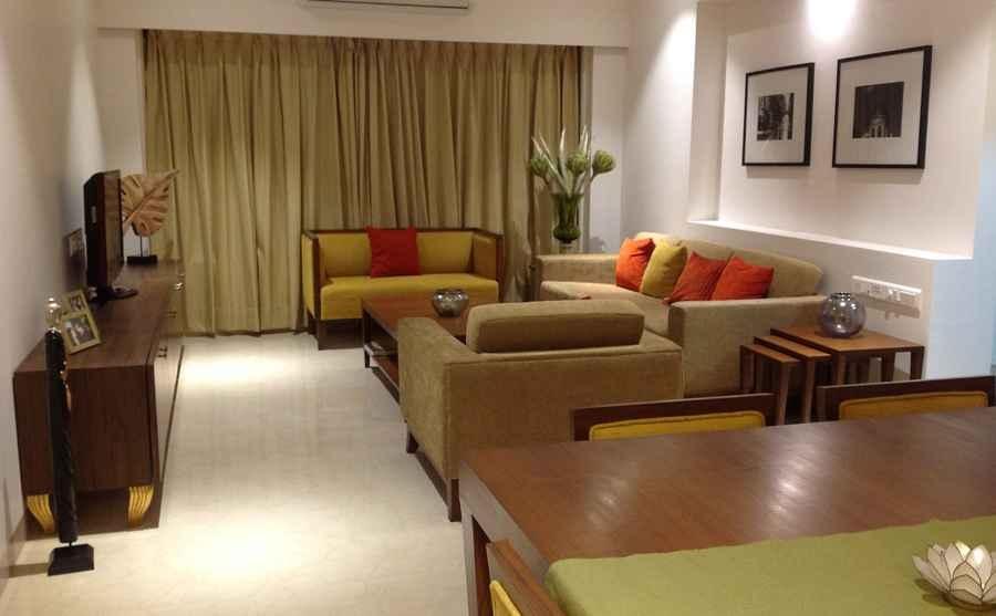Rallan Living Room By Debarati Bhattacharjee Architect In Mumbai Maharashtra India