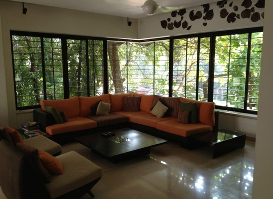 Living Room Design by Architect Salil Ranadive