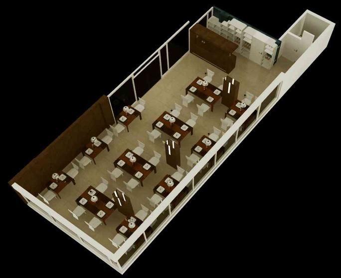 Larica Restaurant by Suman Chakraborty Interior Designer  : ad9b2329a70c1f6b3066a3d2fbddb0ca from www.zingyhomes.com size 684 x 557 jpeg 79kB