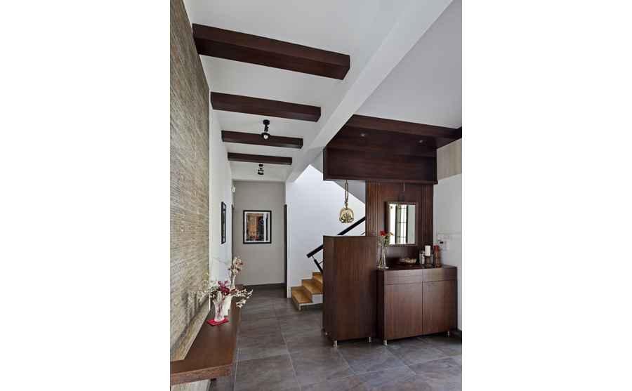 Minimalist house design india - Villa Interiors For Siji Rehana And Sudeep Parambath By