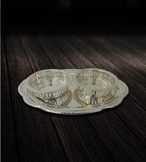 Buy Two Bowl Supari Set Online