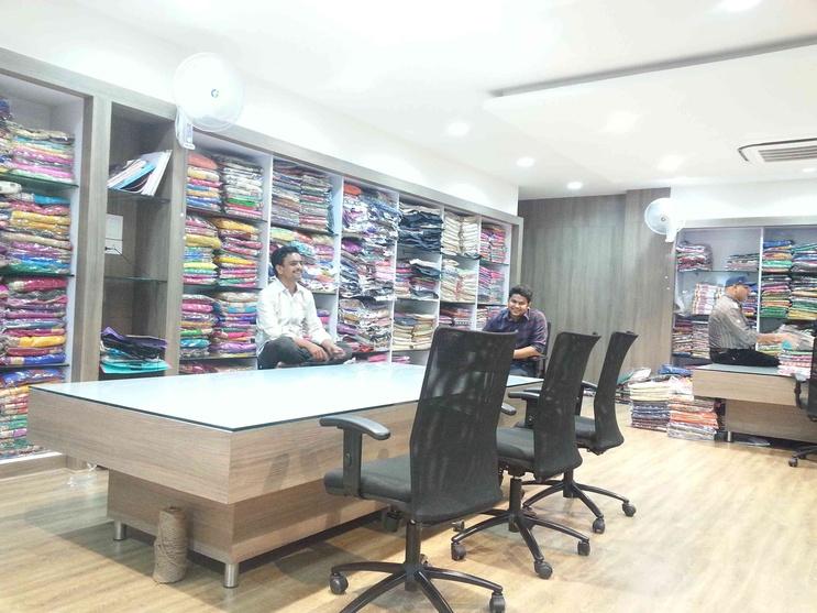 Interior design of saree showrooms joy studio design for Best showroom design