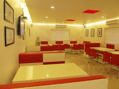 Restaurant seating and interior designs