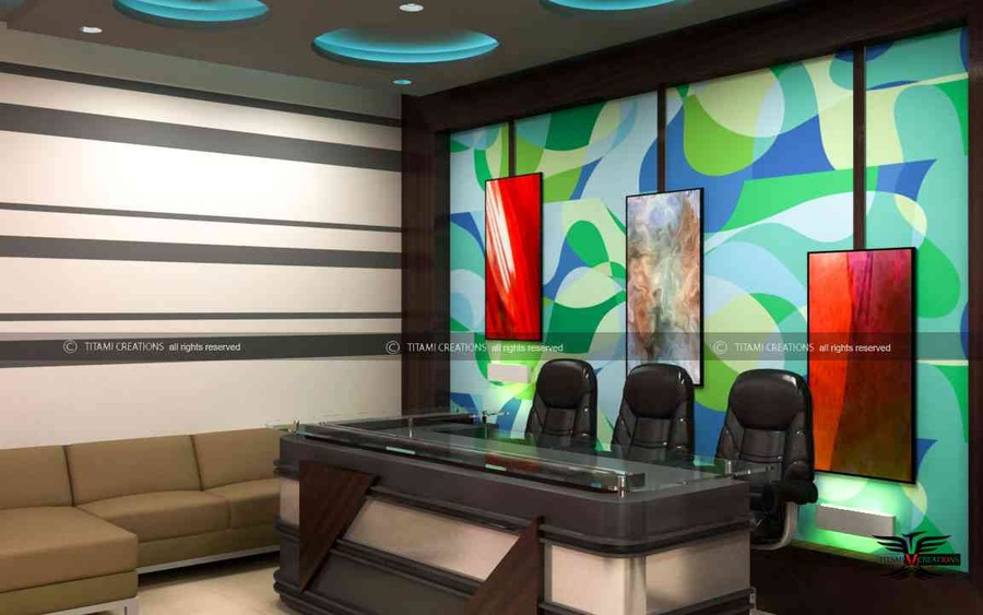 Builder office interior by bhawik chawda interior for Office interior design ideas pdf
