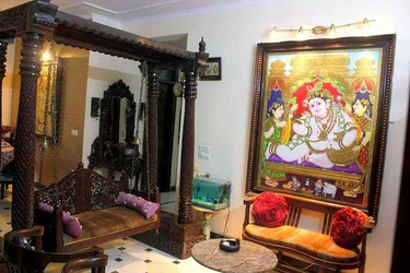Traditional Gujarati Style Interior Designing Decoration