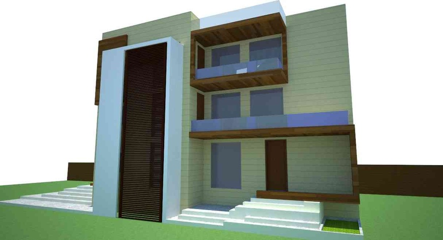 Farm house ghaziabad by ankur tulsyan architect in for Architecture design for home in ghaziabad