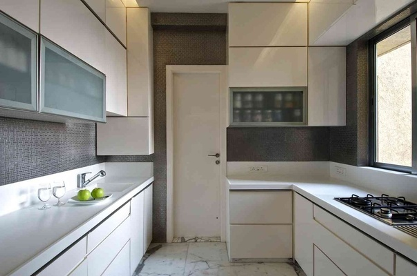 Modular Kitchen Design Idea by Ar. Arbaysis Ashley