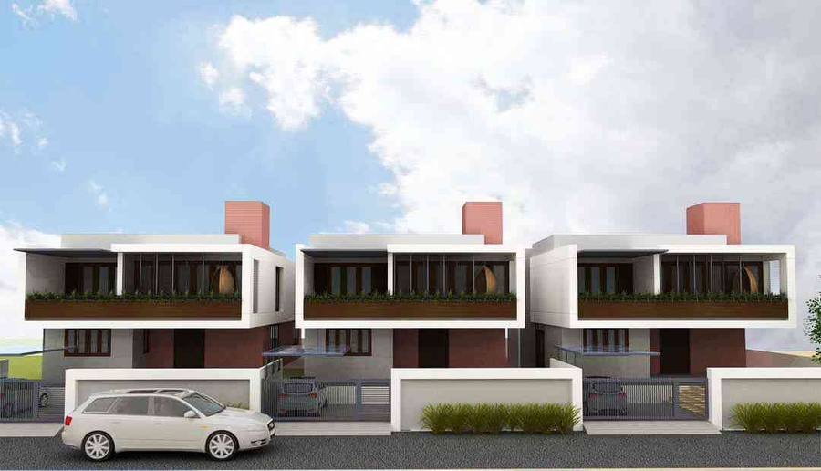 Kusma residence by chintan shah architect in vadodara for Architecture design for home in vadodara