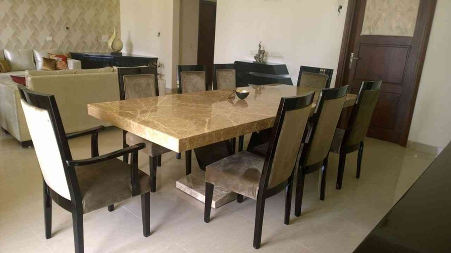 Marble Granite Dining Table Sets