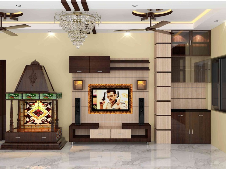 Bedroom interior by sunny singh interior designer in kolkata west bengal india Home interior design ideas in chennai