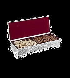 Buy Online Dry Fruit Box with 2 partition