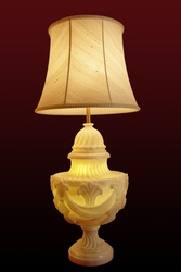 Drape Pardah Table Lamp