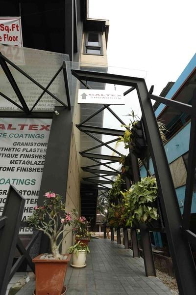 galtex texture coatings corporate office by arun vidyasagar  architect in kochi kerala  india