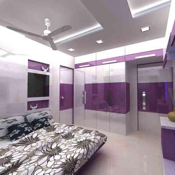 Painting Contractor In Mumbai: 3Bhk By Rakesh Kokal, Interior Designer In Mumbai