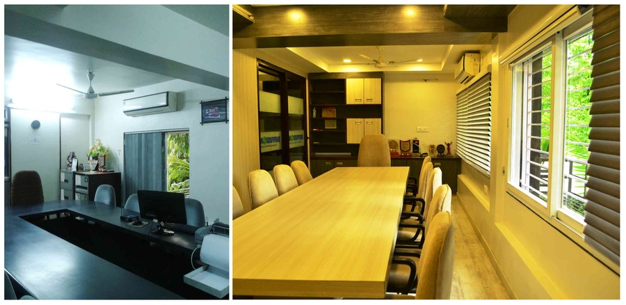 Renovation Work Of Diffusion Office By Sonal Birdi