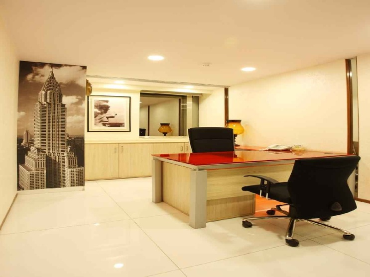 Rna head office mumbai by shahen mistry interior for Office cabin design