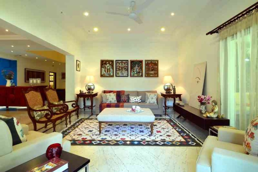 Hyderabad Bungalow By Sandesh Prabhu Interior Designer In Mumbai Maharashtra India