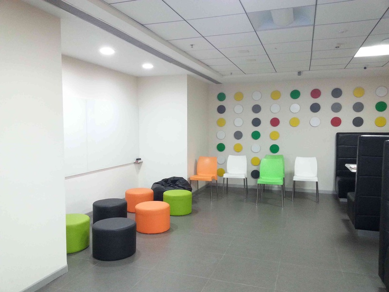 Groupon Lounge Interiors By Quadrantz Consultants