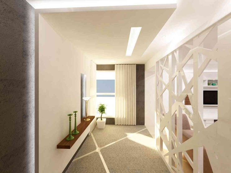 Design Foyer Hyderabad : Flat trident towers by samanth gowda architect in