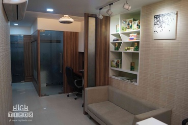 Office Product Wall Display HighTieds Interior Design Ahmedabad