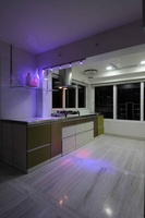 Modern White Spacious Kitchen