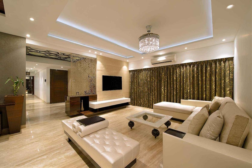 Home interior design ideas for family rooms tips photos for Interior design hyderabad cost