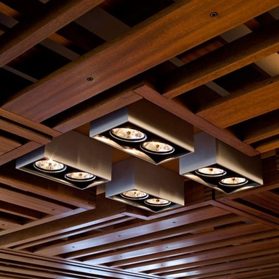 Compass Box Ceiling Lighting