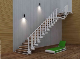 Staircase design-- Nail cutter