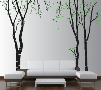 Tall Trees Wall Decal ( KC170 )