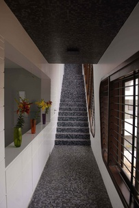 Mosaic Style Staircase