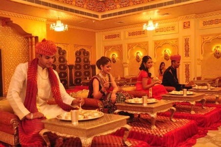 Royal Dining at Virasat Heritage Restaurant Jaipur