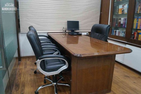 Main Cabin Table Design Table chairs Book Storage Design High Tieds Interior Design Ahmedabad