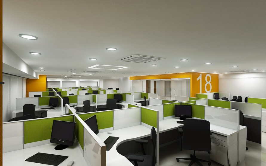 Corporate Office At New Mumbai By Shamank Consultancy