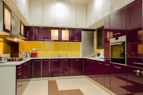 Large Kitchen, Design by: Ar. PRS Sivakumar