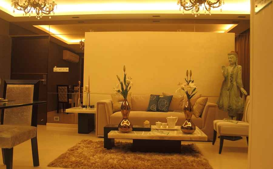 Rna continental 2bhk by shahen mistry interior designer for Interior design ideas for 1 room kitchen flat in mumbai
