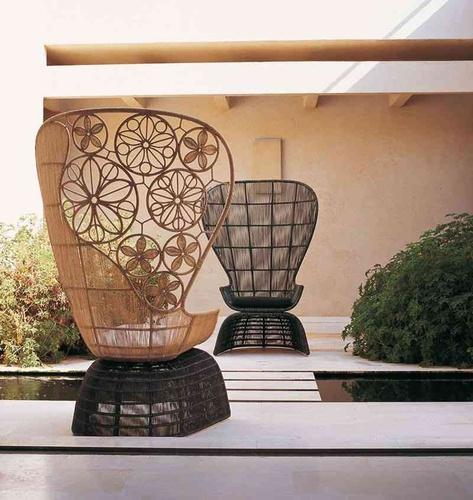 Crinoline Outdoor Armchair