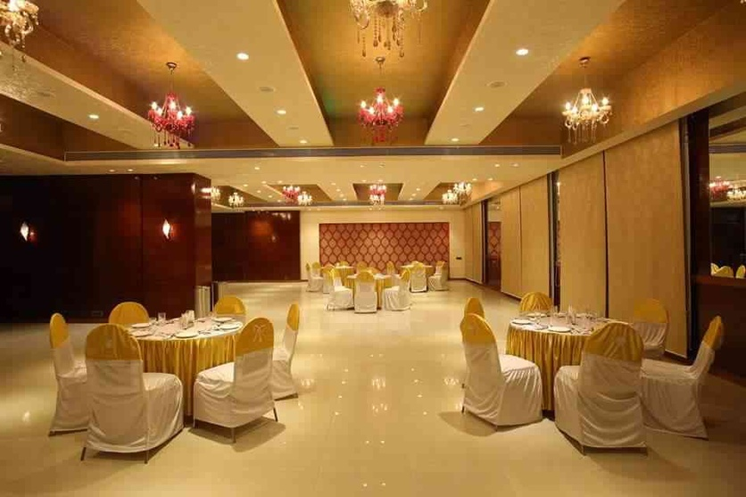 Banquet hall design by ishita joshi interior designer in for Interior designs for hall images