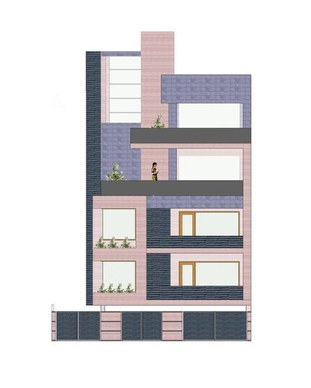 Plan Elevation Of A Cuboid : Cuboid house by amit khanna architect in delhi india