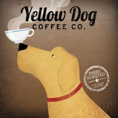 Yellow Dog Coffee Co Poster